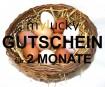 Geschenk Gutschein 23,98€ für 2 Monate Huhn- Patenschaft